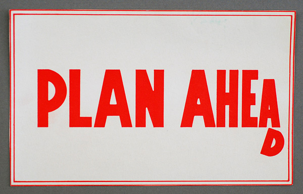 9 Tips For Successfully Planning Ahead – DAVID SUMMERTON CONSULTING